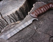 """Handcrafted FOF """"Paradox"""" Custom grind full tang tactical tanto and survival blade."""