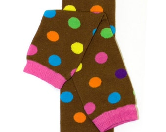 Fun-Day Sundae Polka Dot Leg Warmers- **FREE Shipping**