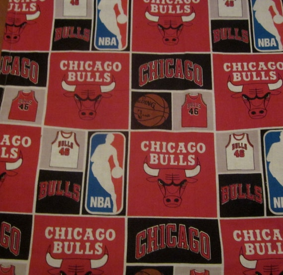 Chicago Bulls Baby Blanket Stroller Car Seat Or Tummy Time