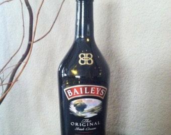 Baileys Irish Cream, Bottle Light, Spirits Bottle Light, Alcohol Bottle Light, Recycled Bottle.