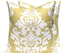 Pillow Covers  Gold Pillow Yellow Pillows Decorative Pillows Home Decor Gold Cushion Covers Yellow Pillow Gold Pillow Throw Pillow Covers