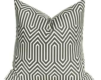 Gray Pillow - Throw Pillow Covers - Floor Pillow - Euro Sham - Gray Pillow cover - Accent Pillow - Decorative Pillows - Euro Pillow Cover