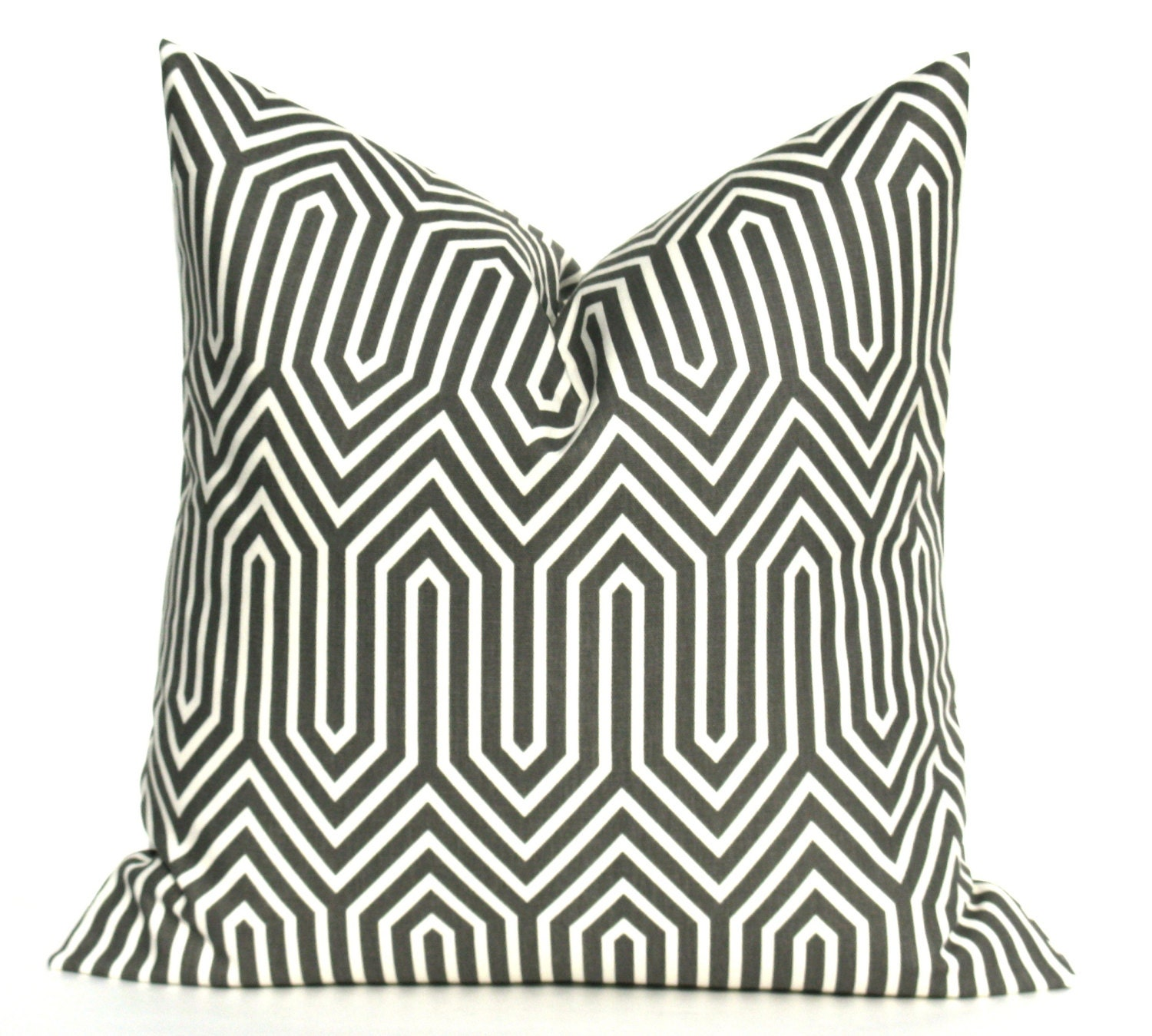 Decorative Pillows Black And Grey : Decorative Throw Pillows Gray Pillow Cover Toss by EastAndNest