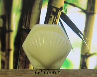 Lei Flower Organic Solid Lotion Bar 100% Natural Large 4 oz