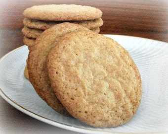 Brown Sugar Chewy Crispy Cookies - FOUR dozen