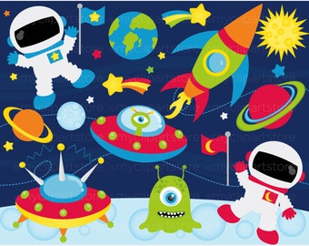 Outer Space Planets Clipart - Pics about space