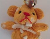 Japanese Kimono Bear Lucky Charm.Handmade