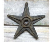 Vintage Industrial Cast Iron Stars