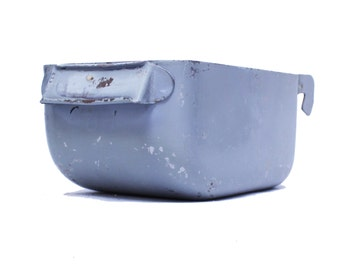 Vintage Industrial Grey Drawer