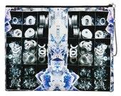 SALE - Digitally printed portfolio clutch bag - Caloundra