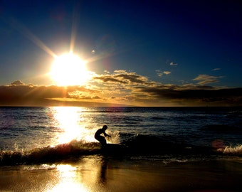 Surf into Sunset
