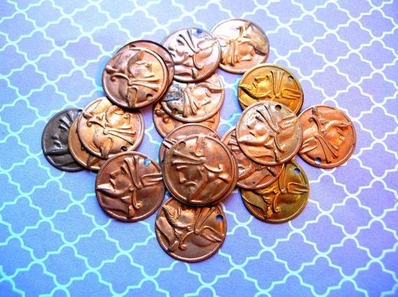 Mercury Roman God of Speed Coin Findings