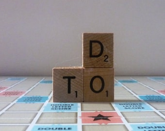 To Do Scrabble Magnet