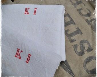 linen sheets antique handwoven