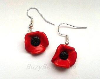 Poppy dangle earrings