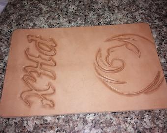 Custom handmade wallet