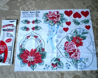 Vintage Applique Panel and Heat and Bond
