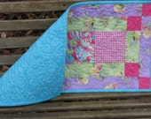 Table Runner - Welcome Spring - Easter Quilted Table Runner 3