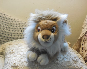 A & A Plush Inc 1992 Lion, Lion, Plush Lion, Toy Lion, Vintage Toy Lion, Vintage Stuffed Animals, Vintage Stuffed Toys,  :)s*