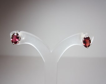 Native Sunset Garnet Earrings