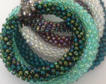 Kumihimo Beaded Bracelet Kit  *8 colors to choose from*