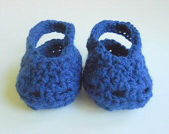 Blue Baby Boy Handmade Sandals Infant  Girl Summer Booties Children  3 4 5 6 Months Spring Clothing