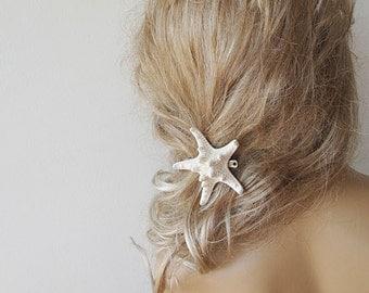 Starfish Hair Accessories,  Starfish Pins, Wedding Accessories, Mermaid Hair Accessories, Beach Hair Accessories, Natural