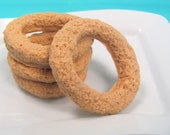 Onion Ring Soaps - Food Soap - Vegan - Gift for Guy - Gift for Foodie - Gag Gift - Funny Gift - Fast Food - Soap Drool