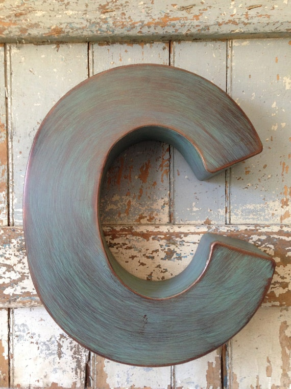 large metal letters industrial metal large letter c 1349