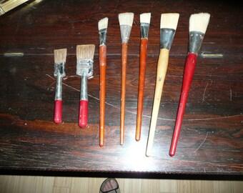 Vintage Brand new vintage artist brushes