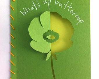 What's Up Buttercup Card