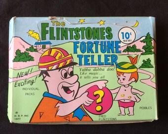 Flintstones Fortune Teller Packs 1977