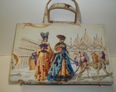 Mascaraed Ball in Venice with a  Russian Themed Handbag  Thanksgiving, Black Friday, Cyber Monday, Christmas
