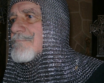 Chain Mail Coif - 3