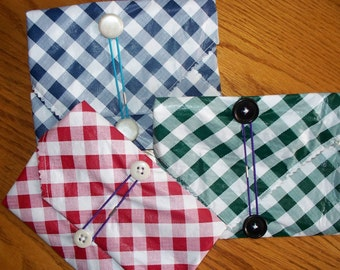 REUSABLE SANDWICH WRAP/placemat - for large sandwich