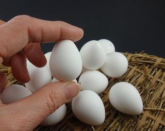 Quail Eggs, 15 Blown White Quail Eggs, Eggs for Pysanky, Easter Eggs, Eggs for Crafts