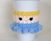 Crochet Cinderella Princess Coffee Cup Cozy