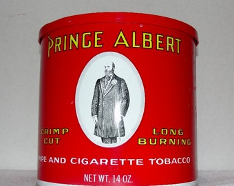 Prince Albert in a Can Collectible Tin Can Full Size (coffee can size)