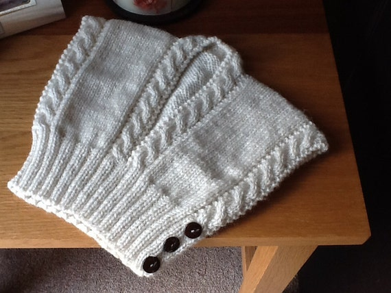 Knitting Pattern Gilet : Items similar to NICOLETTE Hug me tight, Baby Wool Gilet / Bodywarmer / Waist...