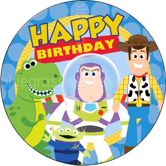 Buzz Lightyear Birthday Cake Toppers