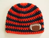 Denver Broncos Baby, Denver Broncos, Denver Broncos Hat, Broncos Baby, Denver Broncos Football, Football Baby Hat, Baby Hats, Photo Props
