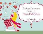 Yoga Baby Shower PDF, baby shower thank you note, Yoga baby shower thank you, baby shower pdf, custom invitation