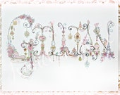 Custom 8x10 Name - Made to Order / Favourite Things / Personalized