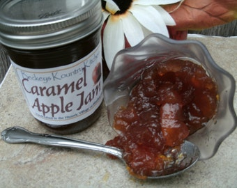 Jam & Jelly Caramel Apple Jam, Handcrafted, Deliciously Sweet, jelly and jam