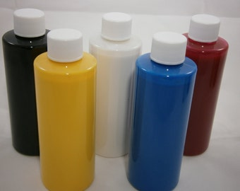 Cream Color Base - STAIN FREE Franken Nail Polish Colorant -  1/2 oz Sampler in Dropper Bottle- Your Choice