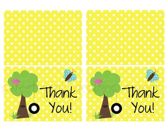 Thank you Cards- Spring Fun Party