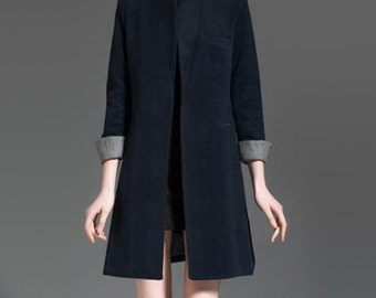 Popular Items For Wool Trench Coat On Etsy