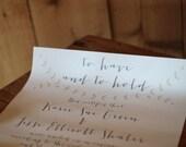"11""x14"" Wedding Certificate"