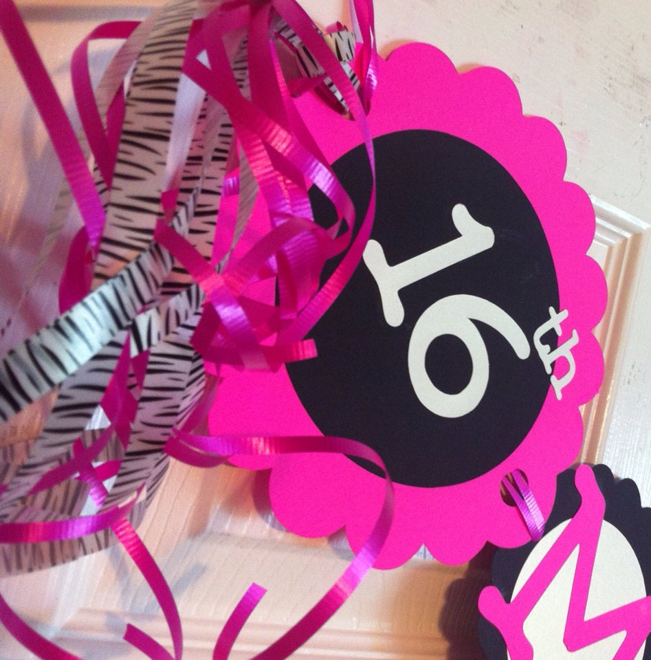 16th Birthday Party Decorations Sweet Sixteen