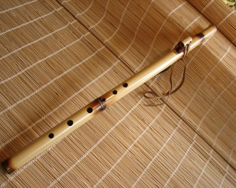 Flute. Bamboo Native American Style Flute Key of G#